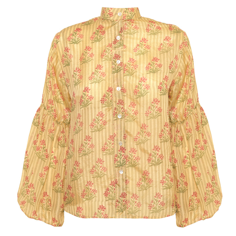 Miraya Blouse | Yellow Silk Road