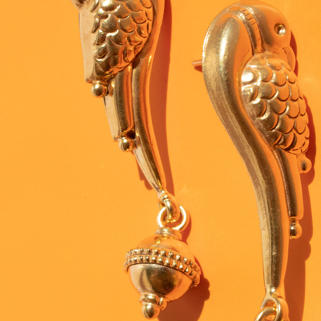 Pájaro Earrings