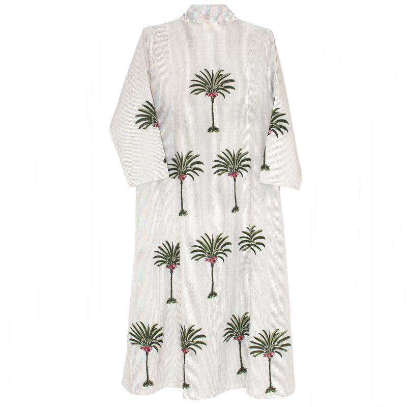 Yasmine Dress - Palm Trees
