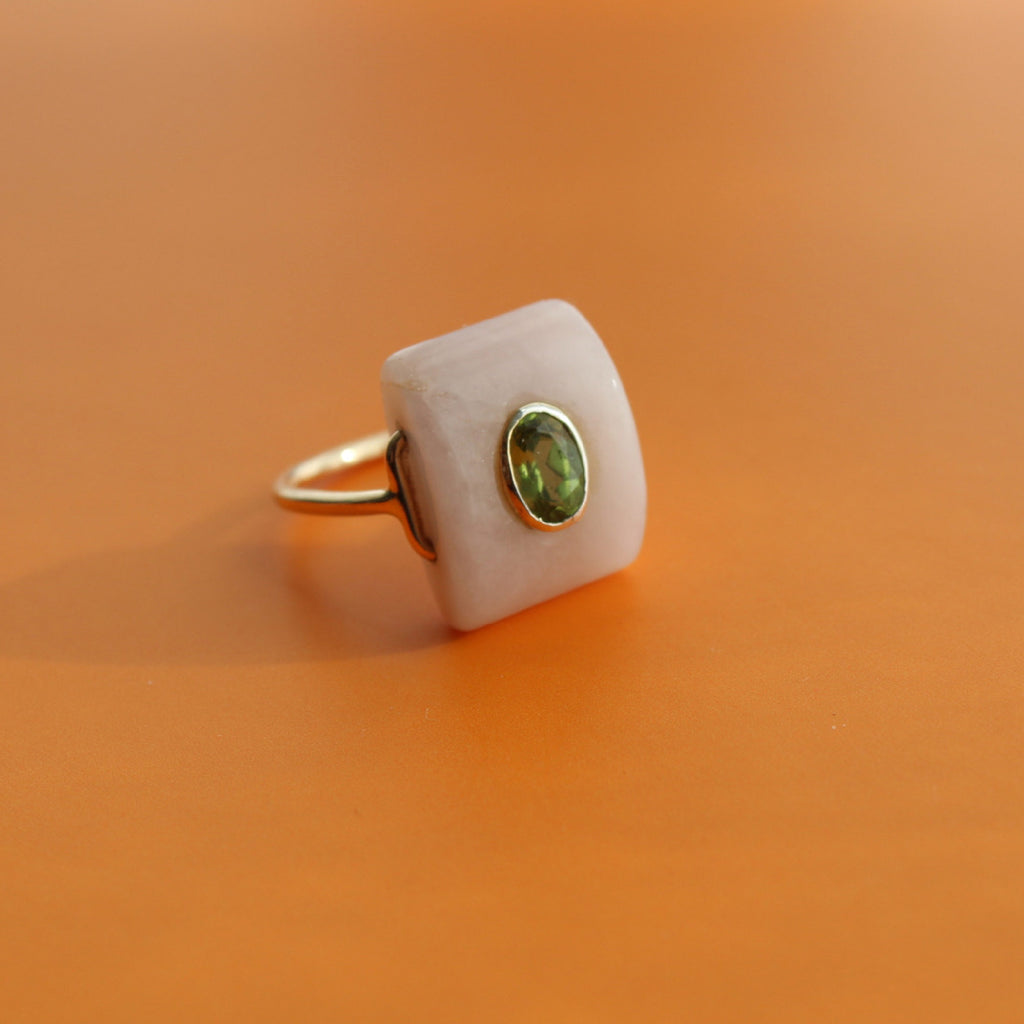 Nandini Ring | Peridot | Sizes Available