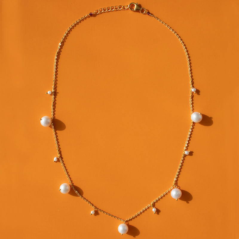 Playful Pearls Necklace