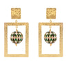 ZINDAGI Regina Black Forest Earrings