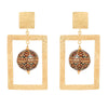 ZINDAGI Regina Caramel Earrings