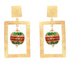 ZINDAGI Regina Tropical Earrings