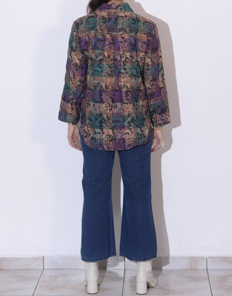 Saha Blouse | Midnight