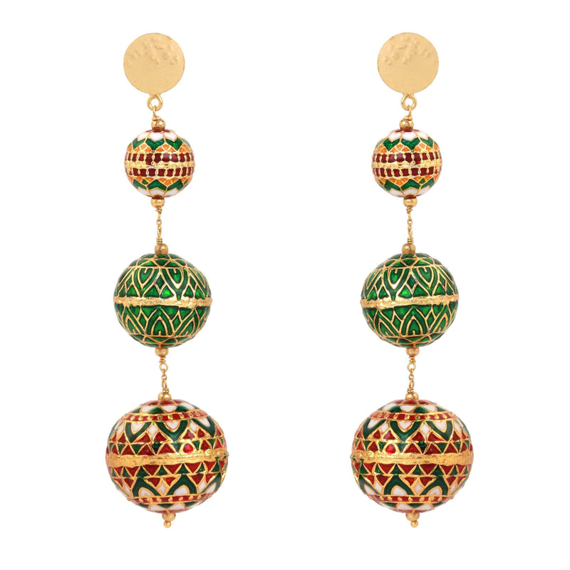 ZINDAGI Adya Drops Carnaval Earrings