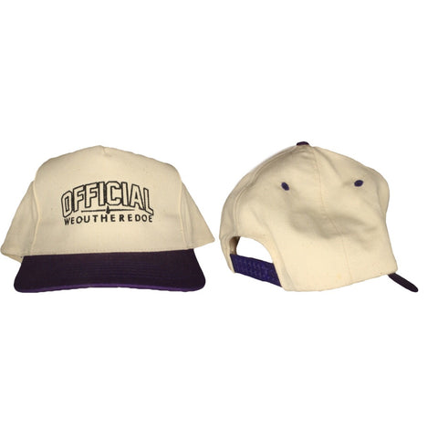 OFFICIAL WEOUTHEREDOE PURPLE VINTAGE SNAPBACK  LIMITED EDITION