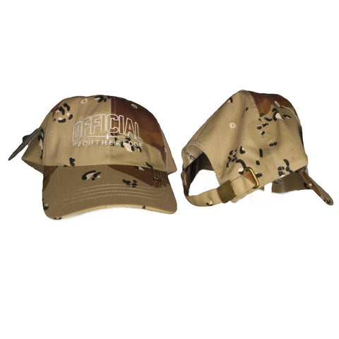 OFFICIAL WEOUTHEREDOE DAD HAT CAMO LIMITED EDITION