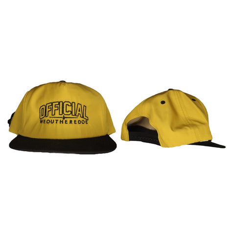 OFFICIAL WEOUTHEREDOE SNAPBACK YELLOW  LIMITED EDITION