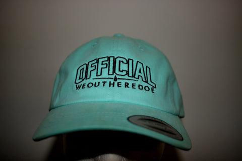 Baby blue OFFICIAL WE OUT HERE DOE DAD HAT