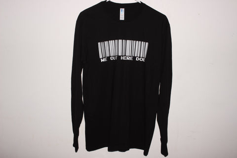 STICK TO THE CODE #WOHD LONG SLEEVE SIZE MEDIUM