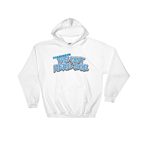 Official We Out Here Doe Baby blue Hoodie