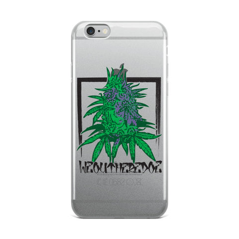 Purple NUGS iPhone Case