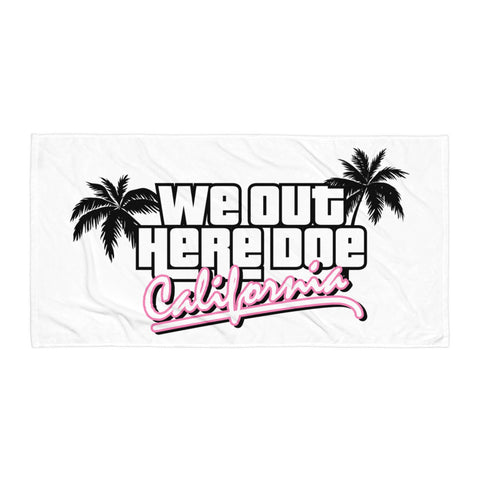 """California Dreamin"" Towel"