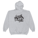 We Out Here Doe Graffiti Zip Hoodie