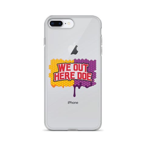 Honey Drip collision iPhone Case