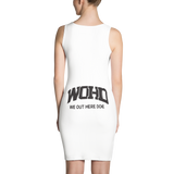 We Out Here Doe Logo Dress