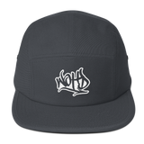 We Out Here Doe GRAFFITI Logo 5 Panel Camper
