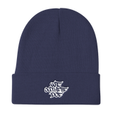 We Out Here Doe Logo Knit Beanie