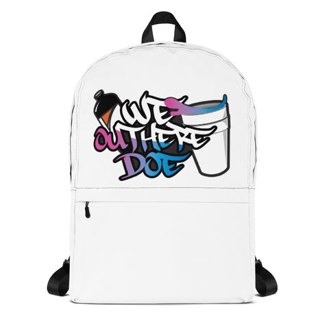 cotton candy splash Backpack