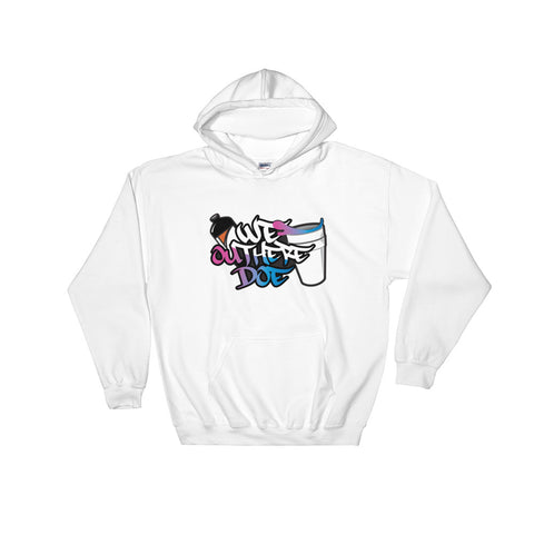 Cotton Candy Splash Hooded Sweatshirt