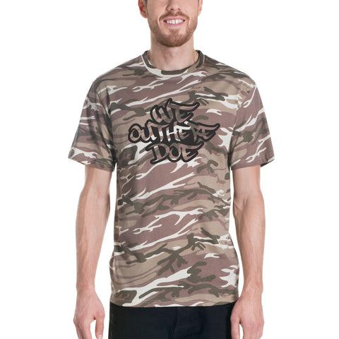 New logo sand camouflage t-shirt