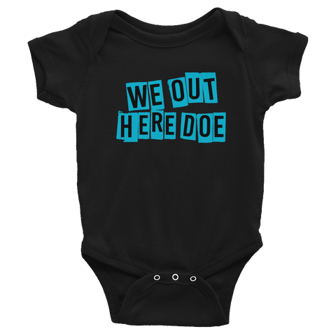 Bolt Blue Infant Bodysuit