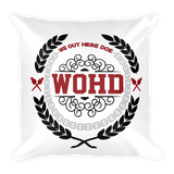Empire Throw Pillow (double-sided)