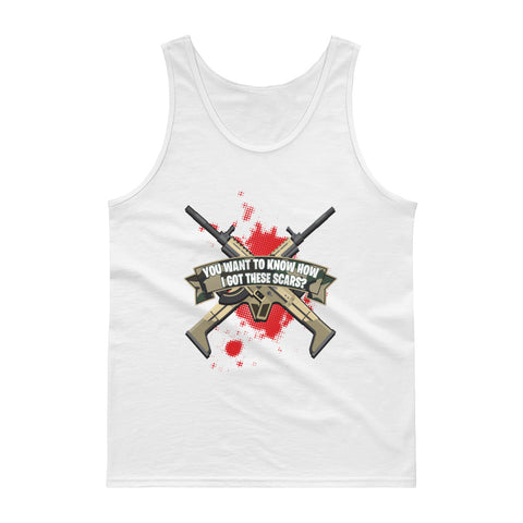 COME CATCH THESE SCARS Tank top