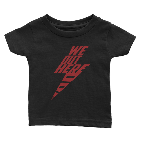 Bolt Red Infant Tee