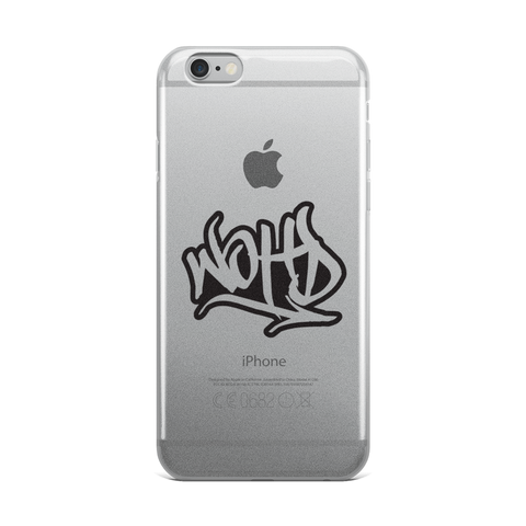 We Out Here Doe GRAFFITI Logo iPhone 5/5s/Se, 6/6s, 6/6s Plus Case
