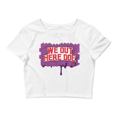 Honey berry WOHD Women's Crop Tee