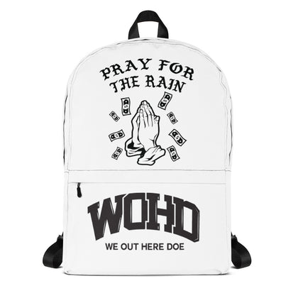 Pray For The Rain Backpack