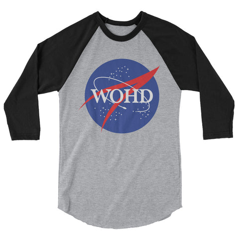 Nasa WOHD BASEBALL STYLE T-SHIRT
