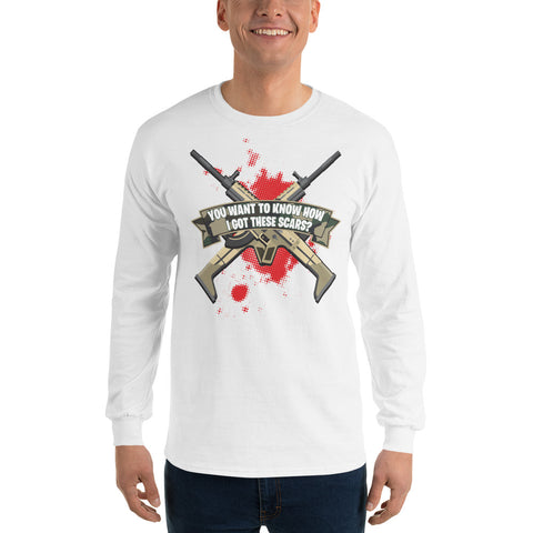 COME CATCH THESE SCARS Long Sleeve T-Shirt