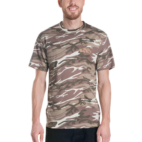 Sand Camo Power Hand FSJ Signature T-shirt