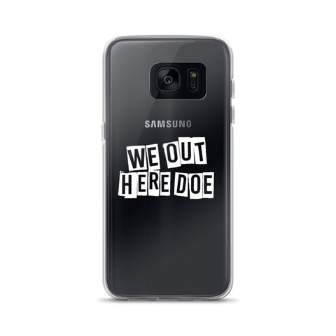 Block Letters WOHD Samsung Case