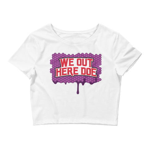 Honey berry Women's Crop Tee