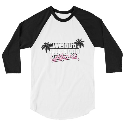 """California Dreamin"" BASEBALL STYLE T-SHIRT"