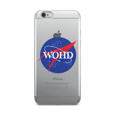 NASA WOHD iPhone Case