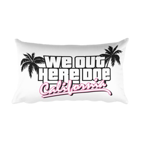 """California Dreamin"" Rectangular Pillow"