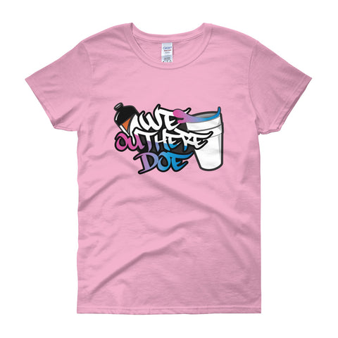 Cotton Candy splash Women's short sleeve t-shirt