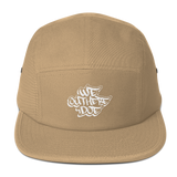 We Out Here Doe Logo Five Panel Cap