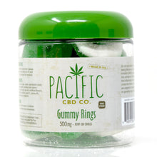 Pacific CBD Co. Gummy Rings - 500mg