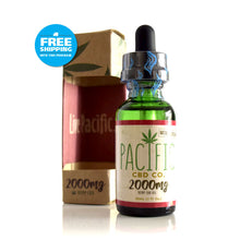Pacific CBD Co. CBD Drops - Strawberry Flavor