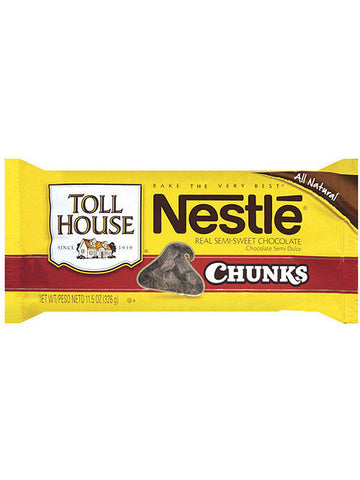 Nestlé Toll House Real Semi-Sweet Chocolate Chunks