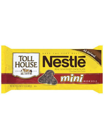 Nestlé Toll House Real Semi-Sweet Mini Chocolate Morsels
