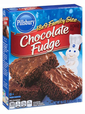 Pillsbury Chocolate Fudge Brownie Mix