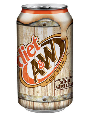 A&W Diet Root Beer (12x355ml)