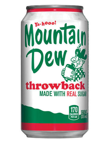 Mountain Dew Throwback Soda (12x355ml)
